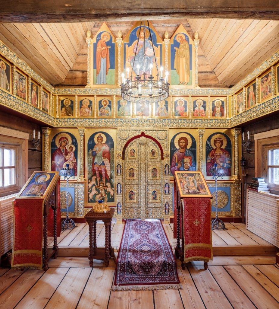 Die Kirche des heiligen Georgs des Siegers