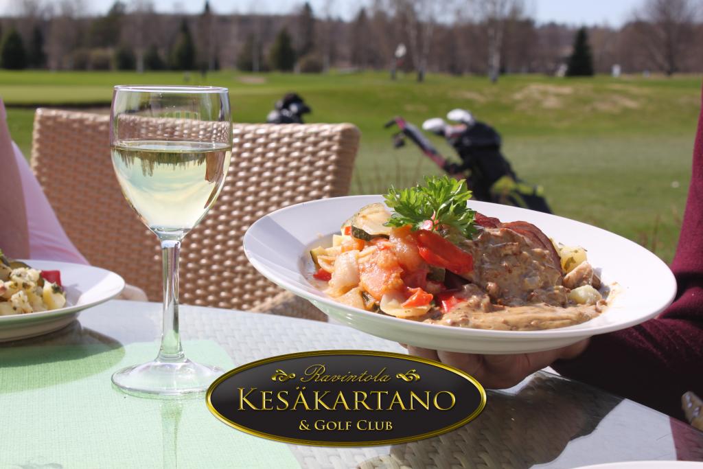 Klubiravintola Kesäkartano, Kartanogolf